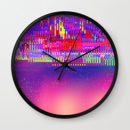 Auroralloverdrive Wall Clock
