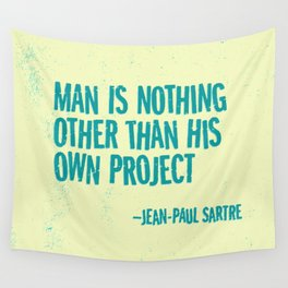 Man's Own Project Wall Tapestry