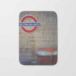 London - Notting Hill Gate Bath Mat