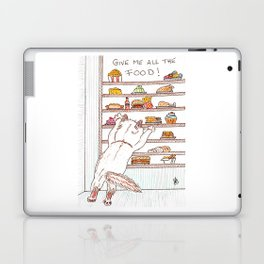 Give me all the food! Laptop & iPad Skin