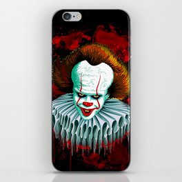 The Dancing Clown - Pennywise IT - Vector - Stephen King Character iPhone Skin