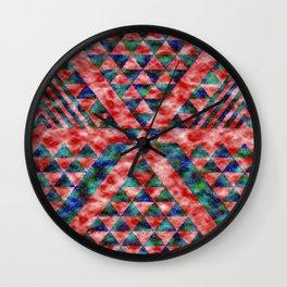 Colores Loco Wall Clock