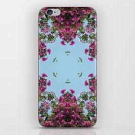 Kaleidoscopic Trees 6 iPhone Skin