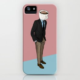 IT'S MORNING AND I THINK OF YOU iPhone Case