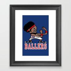 Ballers Framed Art Print