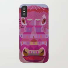 A Cow in Los Angeles iPhone X Slim Case