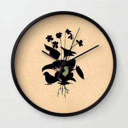 New Jersey - State Papercut Print Wall Clock