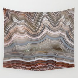 Striped Agate Crystal Wall Tapestry