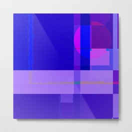 Abstract Image Design In Digital Media No 20 Metal Print
