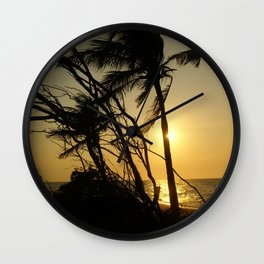 Hidden Paradise Wall Clock