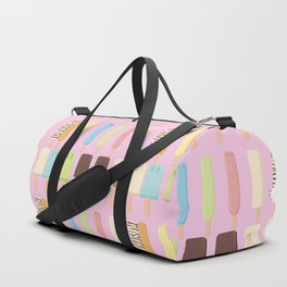 candy popsicles pink Duffle Bag