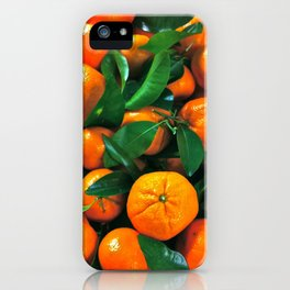 oranges from the grocery store iPhone Case