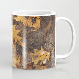 Feuille en hiver Coffee Mug