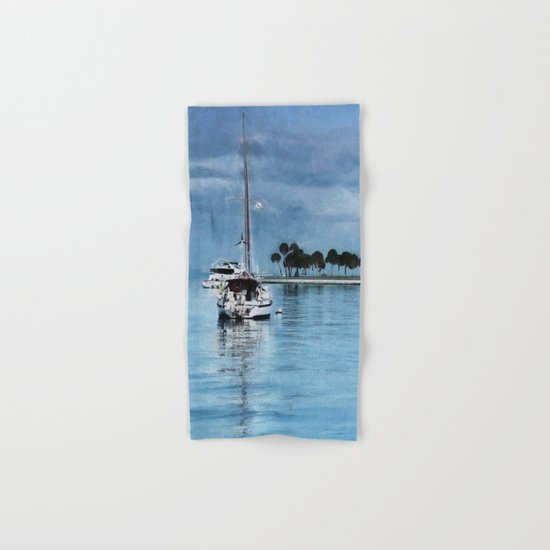 Lost In Tranquility Hand & Bath Towel