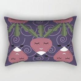 Cute radish Rectangular Pillow