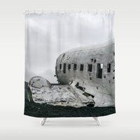 dc Shower Curtains featuring DC-3 by Alex Tonetti Photography
