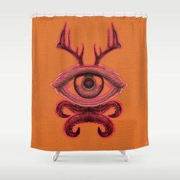 Lifeform #3X947 Shower Curtain
