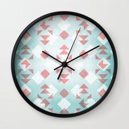 Water Hyacinth Wall Clock