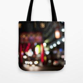Light Art | Melbourne city (Chinatown) Tote Bag