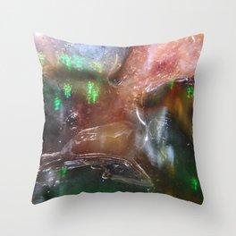 Blueberry Goo Throw Pillow