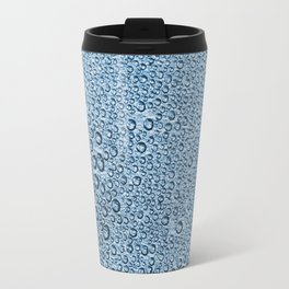 Water Condensation 05 Green Travel Mug