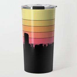 Grand Rapids Skyline Travel Mug