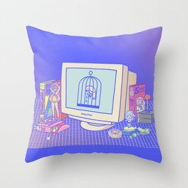 Babysitter Throw Pillow