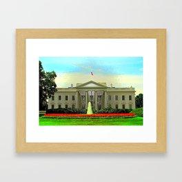 The White House Framed Art Print