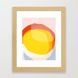Tropical Sunny Day (Abstract) Framed Art Print