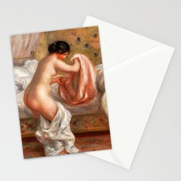 Pierre-Auguste Renoir - Rising (Le Lever) Stationery Cards
