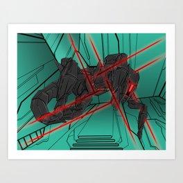 ULTRACRASH 2 Art Print