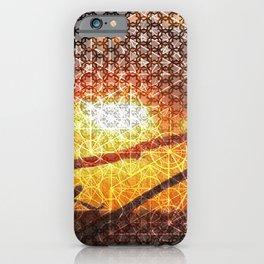 Sunset Geometry   Ferntree Gully iPhone Case
