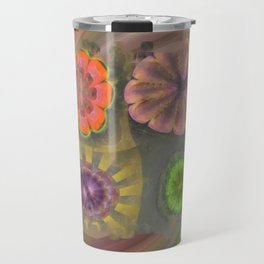 Aetiogenic Actuality Flower  ID:16165-013140-25800 Travel Mug