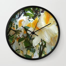 Flowers_Rhododendrons Wall Clock