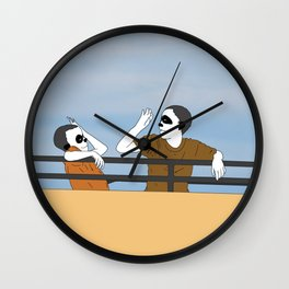 The Highest Five Wall Clock