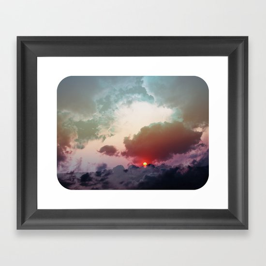 Good Morning : Good Night Framed Art Print