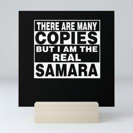 I Am Samara Funny Personal Personalized Gift Mini Art Print