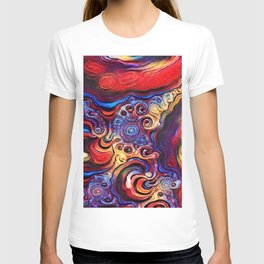 Beautiful Abstract Art by Raphael Terra T-shirt