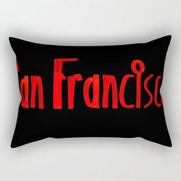 San Francisco ATM Rectangular Pillow