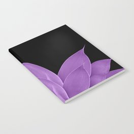 Purple Agave #1 #tropical #decor #art #society6 Notebook