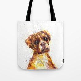 Dog Abstract watercolour prints Tote Bag