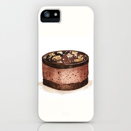 Chocolate Mousse iPhone Case