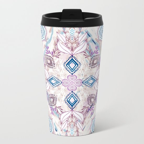 Wonderland in Winter Metal Travel Mug