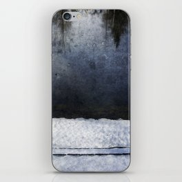 Cold Blue River iPhone Skin
