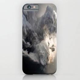 Fist of Fury - Storm Packs a Punch Over Oklahoma Plains iPhone Case