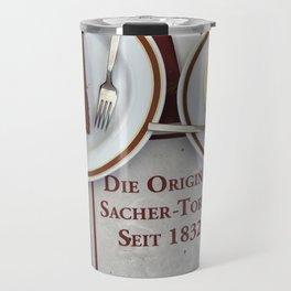 Sacher-Torte Travel Mug