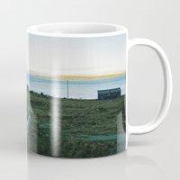 scandinavian Mugs featuring Scandinavian House by A. Serdyuk