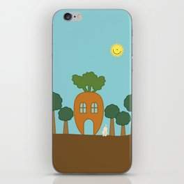 Vege House iPhone Skin
