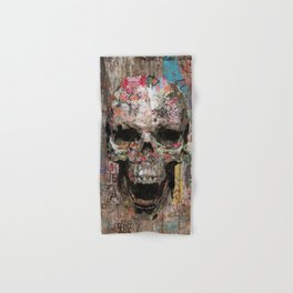 Romantic Street Skull Hand & Bath Towel