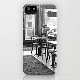 Bitter End 2 BW iPhone Case